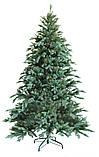"""Новогодняя искусственная елка 1,20 м литая """"Ситхинская"""" голубая, фото 2"""