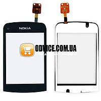 Тачскрин (сенсор) Nokia C2-06, C2-02, C2-03, С2-07, цвет черный