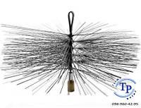 Щетка для чистки дымохода (под резьбу) Ф120 мм