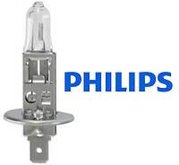 Лампа галогенная 12V H1 55W +30%  PHILIPS