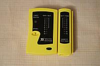 LAN тестер патч корда RJ45 и телефонного кабеля RJ11