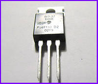 BT137-600Е, симистор, 8А, 600В.