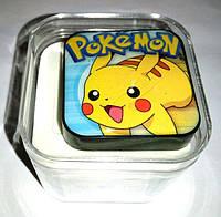 """Mp3 плеер """"Pokemon"""" , наушники,  кабель, оригинальный дизайн, аудио гарнитура"""