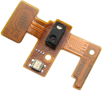 Шлейф для HTC 601 Desire, с кнопкой включения, с датчиком освещённости, с датчиком приближения