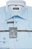 Приталенная рубашка 100% хлопок