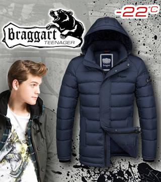 Куртка модная подростковая Braggart, фото 2