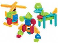 Конструктор-бристл Bristle Blocks - Строитель 56 дет. (3070Z)
