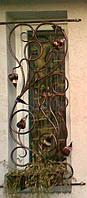 Кованные оконные решетки 1760