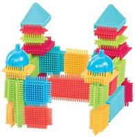 Конструктор-бристл Bristle Blocks - Строитель 112 дет. (3091Z), фото 1