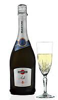 Итальянское вино игристое Martini Asti / Шампанское полусладкое Martini 0,75л., фото 1