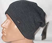Вязаная шапочка-ранетка. Флис..Пряжка. Soft