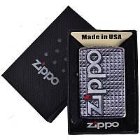Зажигалка бензиновая Zippo в подарочной упаковке 4741-1 SO