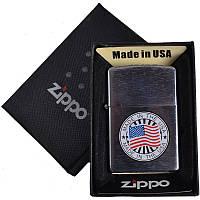 Зажигалка бензиновая Zippo в подарочной упаковке 4741-3 SO