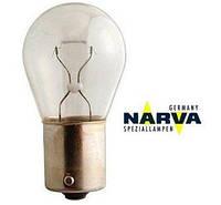Лампа 12V P21W цоколь BA15S (габарит, поворот, стоп)  NARVA 17635