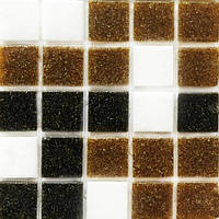 Бежевая мозаика для стен Vivacer GLmix300