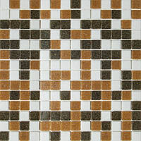 Мозаика для бассейна бежевая Vivacer GLmix300