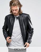 Мужская кожаная куртка, фото 1