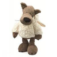 """Игрушка """"Волк"""" в овечьей шубке (плюшевый) 24 см."""