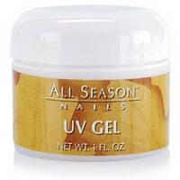 Гель моделирующий All Season UV Gel Clear прозрачный 30 мл
