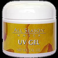 Гель моделирующий All Season UV Gel Clear прозрачный 56 мл