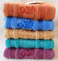 Кленовый лист Лицевое 6 шт в уп. Размер 0,9х0,5 Лицевые полотенца дешевые оптом хорошее качество