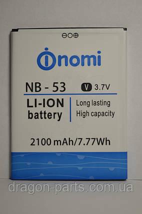 Аккумулятор Nomi i502 (АКБ, Батарея) NB-53 , оригинал, фото 2