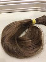 Волосы натуральные славянские ( на трессе, в хвосте, на капсуле) Цвет 08  НОВОЕ ПОСТУПЛЕНИЕ