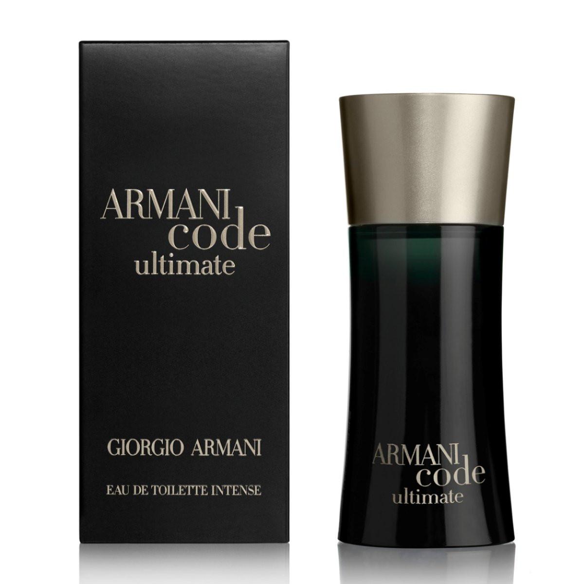 Giorgio Armani Code Ultimate 50ml мужская туалетная вода (оригинал) -  elite-parfumes. 575d0355fda09