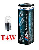 "Лампа 12V Т4W цоколь- BA9S "" ТЕСЛА """