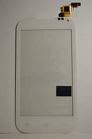 Тачскрин Nomi i401 Colt сенсорная панель белая ,оригинал