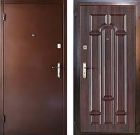 двери уличные входные эконом