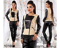 Куртка из эко кожи - 10169
