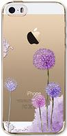 Силиконовый чехол одуванчик для iphone 5/5S