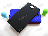 Пластиковый чехол Microsoft Lumia 650 Dual Sim (черный)