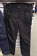 Теплые штаны мужские для лыж и сноубординга с подтяжками