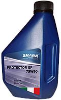 "Масло трансмиссионное синтетическое Shark Italian Lubricants ""Protector EP 75W-90"", 1л"