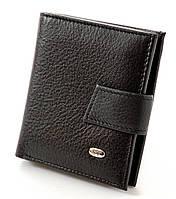 Женский кожаный кошелек портмоне ST складной маленький компактный