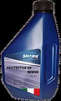 """Масло трансмиссионное минеральное Shark Italian Lubricants """"Protector EP 80W-90"""", 1л"""