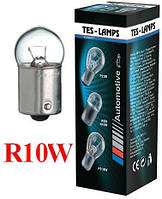 """Лампа 12V R10W цоколь- BA15S  """" ТЕСЛА"""""""
