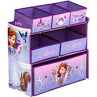 Органайзер для игрушек с ящиками Delta Disney Sofia the First Multi-Bin Toy Organizer