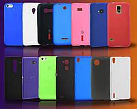 Чехол силиконовый Nokia 206 Asha Pink