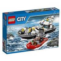 Lego City Полицейский патрульный катер / Police Patrol Boat