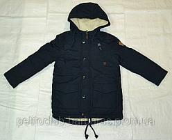 Демисезонная куртка-парка на подкладке для мальчика F&D