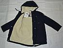 Демисезонная куртка-парка на подкладке для мальчика (F&D, Венгрия), фото 3