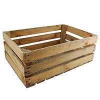 Ящик фруктовый (овощной), деревянный 60х40х40