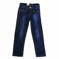 Стильные утепленные джинсы свободного кроя для подростка