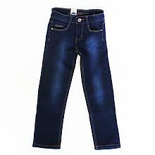 Стильные утепленные джинсы  классического фасона.122, 128, 140, 146
