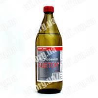 Растворитель АЦЕТОН, стекло 1 л - 0,85 кг