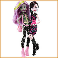 Набор кукол Monster High Дракулаура и Моаника (Draculaura & Moanica D'kay) Welcome to Monster High Монстр Хай