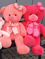 Мягкая плюшевая игрушка Медведь с бантиками,110 см.